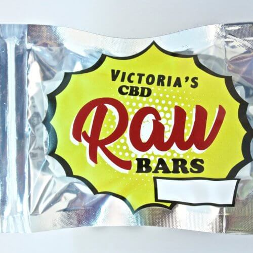 Victoria's 30mg CBD Raw Bars - Canna Health Amsterdam