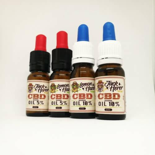 Lemon Haze/Jack Herer CBD Oil with terpenes - Canna Health Amsterdam