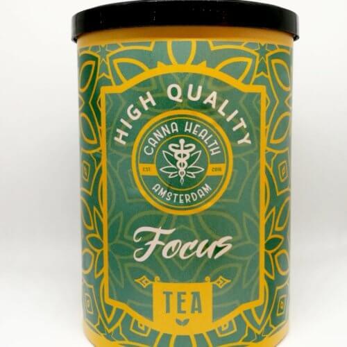 FOCUS CBD Herb Tea Blend - Canna Health Amsterdam - Front