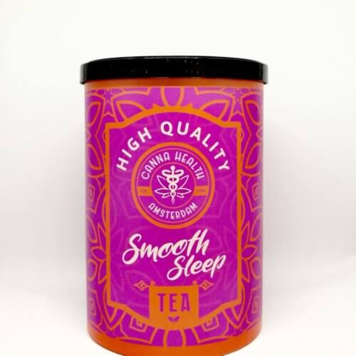 SMOOTH SLEEP CBD Herb Tea Blend - Canna Health Amsterdam - Front